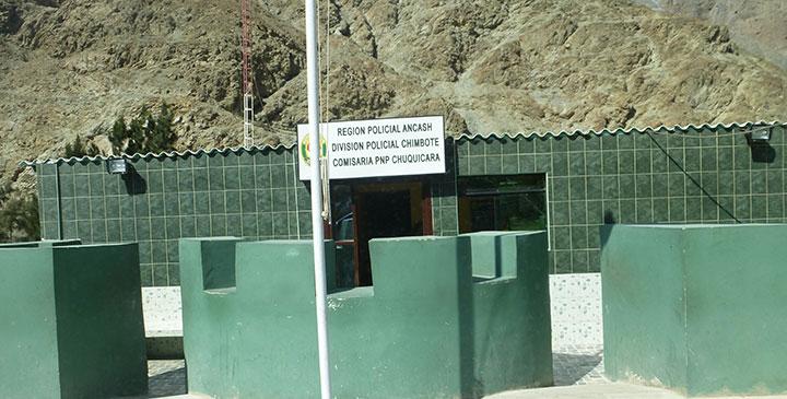 Corrupción policial en el puesto de control de Chuquicara 22