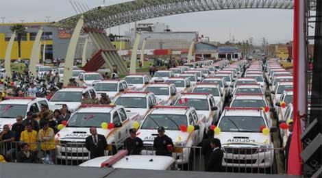 Región Ancash entrega patrulleros, motos y equipos de seguridad al Gobierno Central. 26