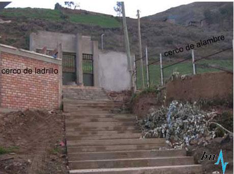 Remodelado colegio de Bolognesi no es utilizado por tener deficiencias 13