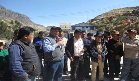 Propondrán Comisión Especial para investigar derrame en Cajacay. 7