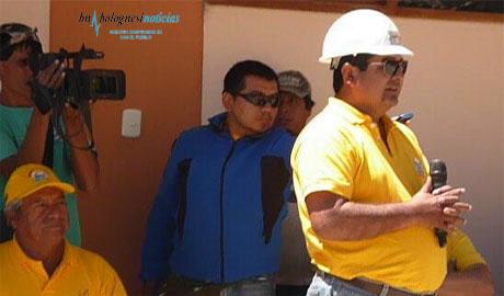 César Alvarez ofrece obras de regadio por 15 millones para Bolognesi que costarían casi  6 millones 13