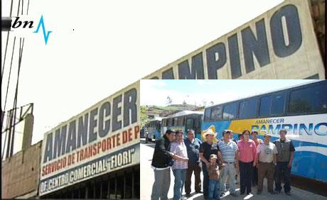 Asaltan bus de pasajeros en la carretera Chuquicara. 5