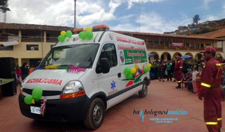 Tauca: Militantes de Cuenta Conmigo agreden Alcalde y causan destrozos a ambulancia 11
