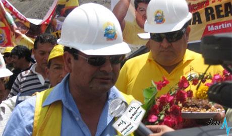 César Alvarez: Vamos hacer un nuevo puente Chuquicara. 17