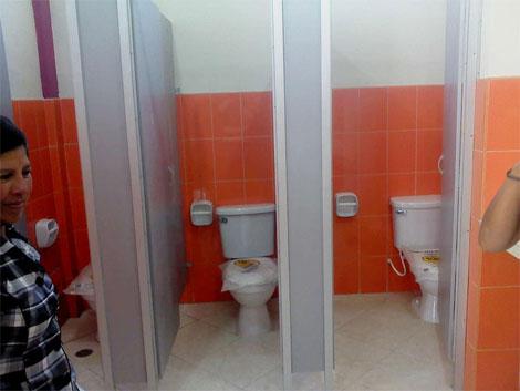 Servicios Higienicos publicos distrito de Bolognesi