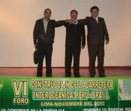 César Alvarez no apoyará la construcción de la Interoceanica 8