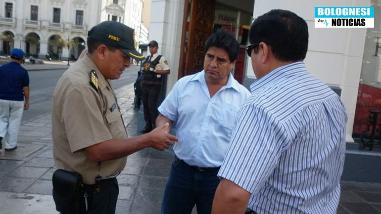 Pedro Cuevas Huacache agrede a director de Bolognesi Noticias 1