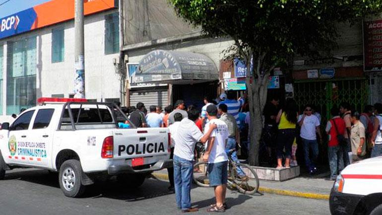 Se roban mas de un millon de soles de casas de cambio en Chimbote 17