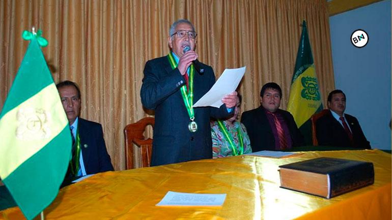 Carlos Sifuentes juramento como alcalde provincial de Pallasca 12