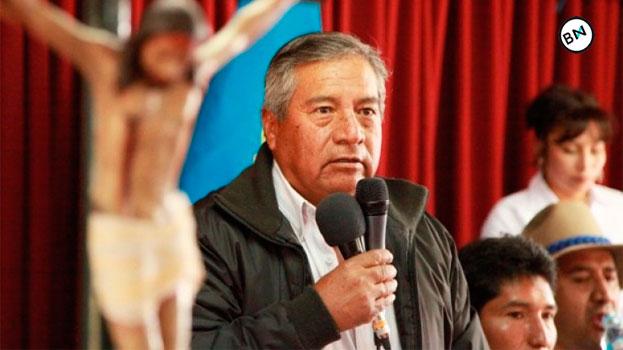 Ancash: Florencio Román quiso ocupar oficina a la fuerza 4