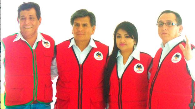El MANPE presentó candidatos para la provincia del Santa 27