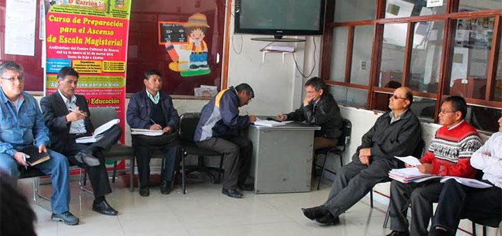 Huaraz: Director DRE Ancash presentó nuevos Jefes de Linea 18