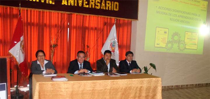 Huaraz: Directores de Ugeles y Director de Educación de la región sostuvieron reunión informativa 24