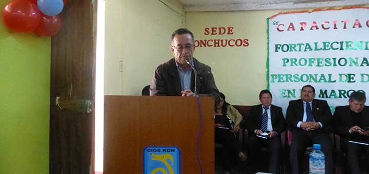 Luís Pasco Director DRE Ancash rechaza infundios 21