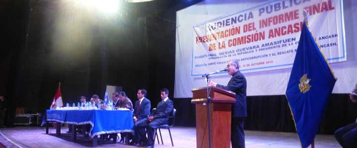 Huaraz: Waldistas atacaron a congresistas en Audiencia Pública 2