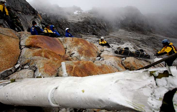 Ancash: Rescatan a montañistas reportados como desaparecidos en el Huascarán. 14