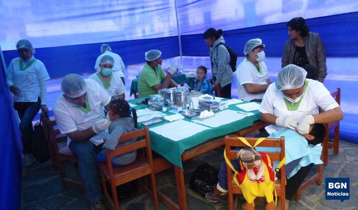 Pallasca: campaña odontológica para la población infantil de Pampas. 2