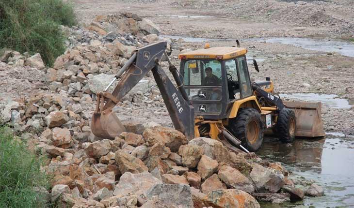 Huaraz: Ministerio de Vivienda realiza trabajos de prevención en cauces de ríos. 12