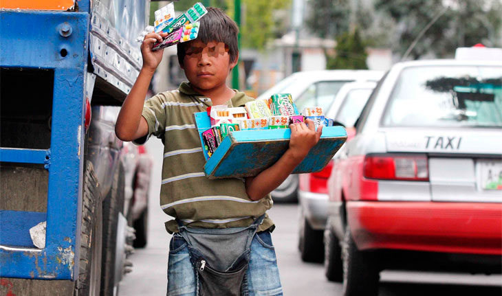 Casi 2 millones de niñas, niños y adolescentes trabajan en el país. 1