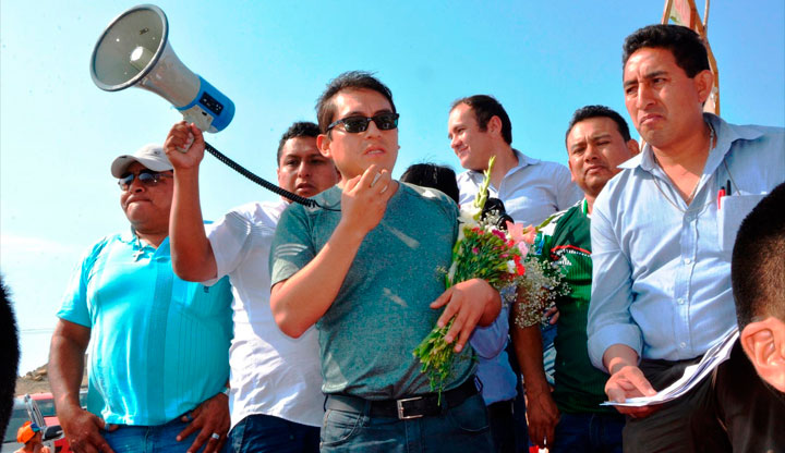 Huaraz: Mañana Gobernador regional Enrique Vargas ante la justicia. 9