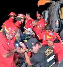 Nuevo Chimbote: ómnibus vuelca en la Panamericana Norte y deja 14 heridos. 24