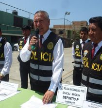 Removieron al Jefe de la División Policial de Chimbote. 18