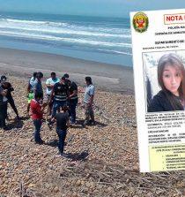 Chimbotana desaparecida es hallada muerta en playa trujillana. 14