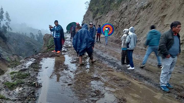 Pallasca: Alcalde Risco 8 años sin previsión de desastres. 2