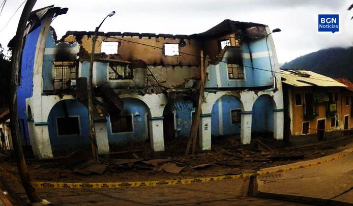 Áncash: así quedó la municipalidad de Huandoval [video]. 34