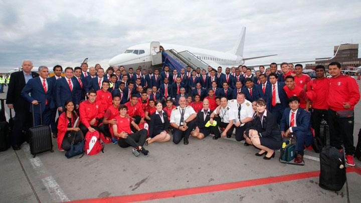 Selección de Perú viaja al mundial de fútbol Rusia 2018