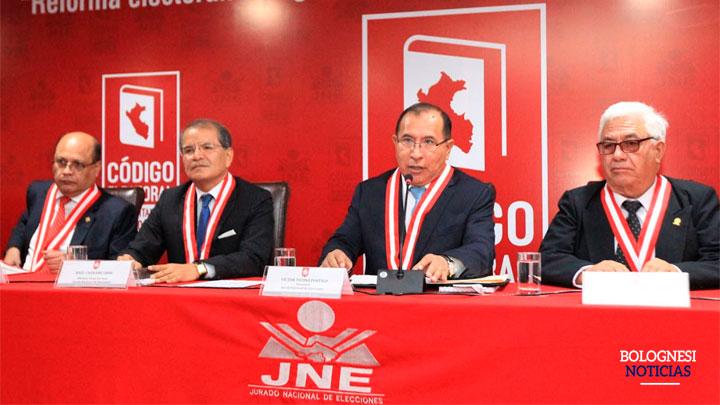 Pleno del JNE vacó a 63 autoridades municipales y regionales en el 2019