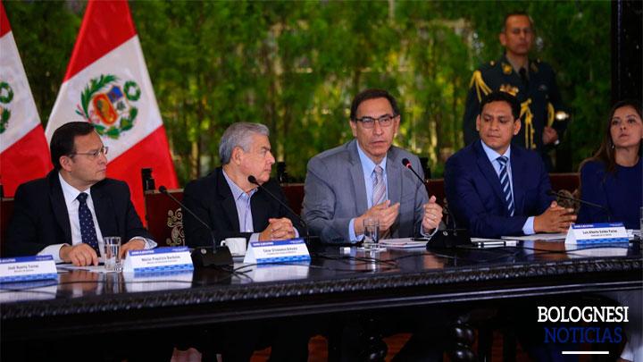Presidente Vizcarra inaugura hoy el VIII GORE-Ejecutivo en Palacio de Gobierno 1