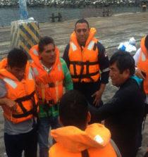 SERNANP realizó taller de supervivencia en el mar a pescadores de Chimbote 13