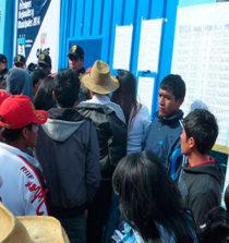 Pallasca: 5 mil 88 jóvenes votarán en elecciones de octubre próximo 18