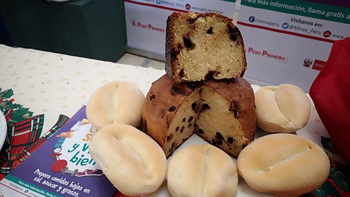 Un panetón clásico de 900 gramos equivale a consumir 36 panes 1