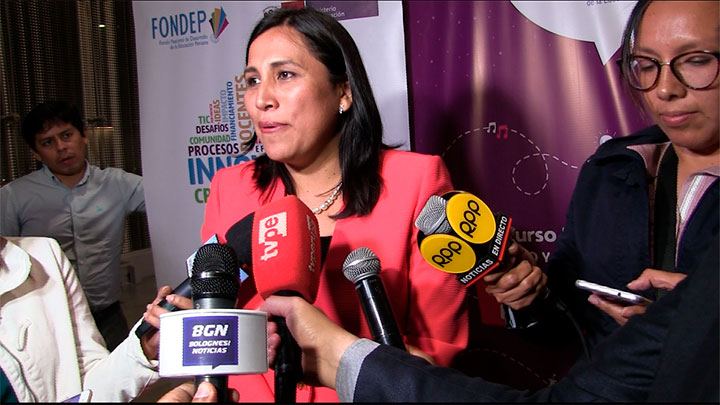 Ministra de Educación: 5% de acató la huelga del Sutep