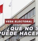 Desde hoy empieza la veda electoral