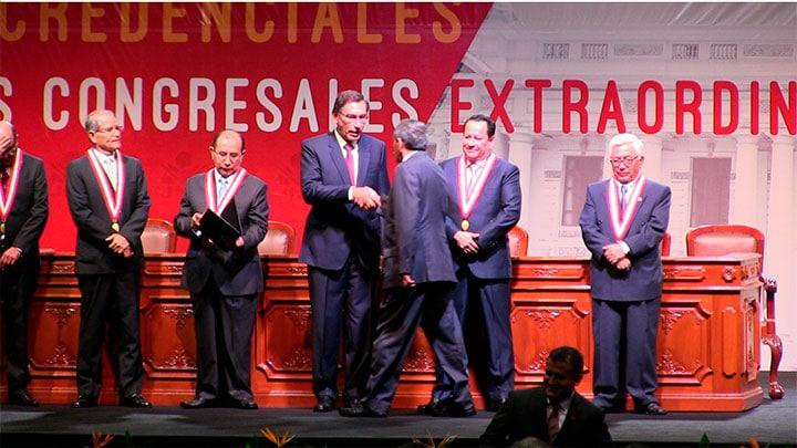 Congresistas electos de Áncash recibieron credenciales