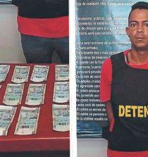 Chimbote: Policía atrapa in-raganti a extorsionador
