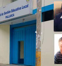 Fiscalía pide prisión para exdirectora y jefe de personal de Ugel Pallasca