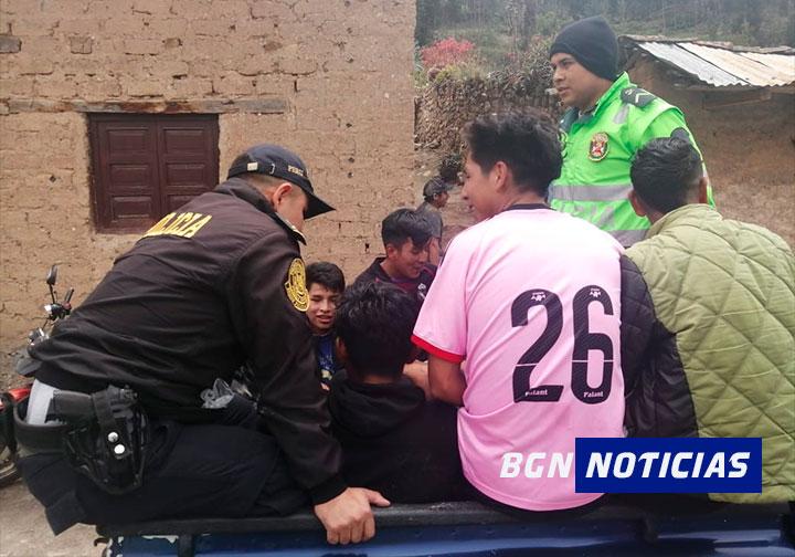 Detienen en Conchucos a 21 personas por no acatar estado de emergencia