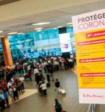Perú suspende los vuelos desde Europa y Asia