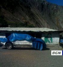 camioneta chocada
