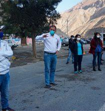 Áncash Gobernador y alcaldes de Pallasca se reunieron en Chuquicara
