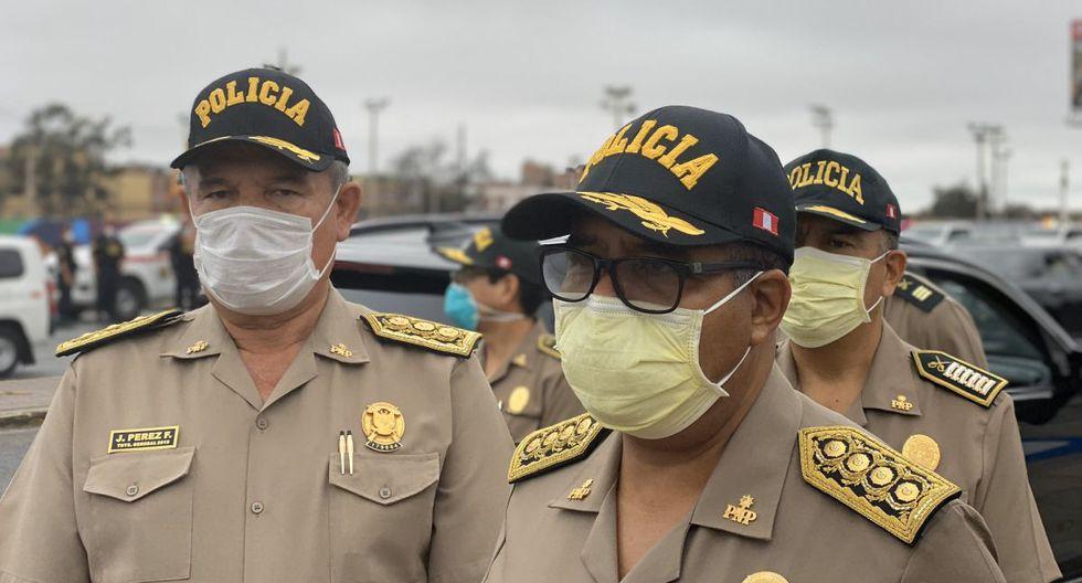 policías infectados