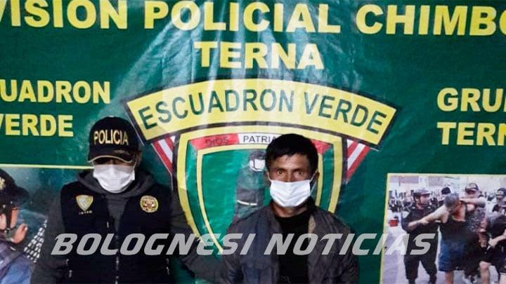 "Pallasca: grupo ""Terna"" captura a violador en Cabana"