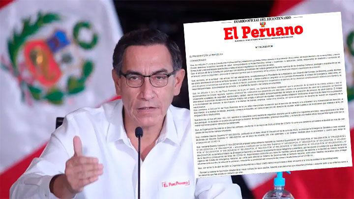 Perú levantará cuarentena aunque mantendrá algunas restricciones por coronavirus