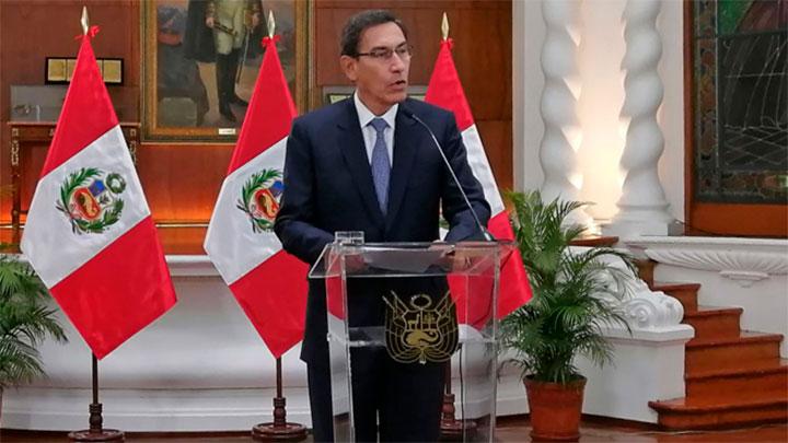 Martín Vizcarra convoca a elecciones