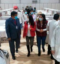 ARCC entregó hospital temporal en Huaraz para atender pacientes covid-19