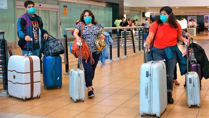 Viajeros no harán cuarentena cuando se trasladen por el país